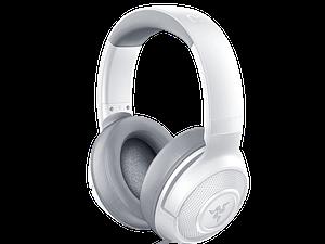 אוזניות בצבע לבן מבית RAZER דגם KRAKEN X MERCURY
