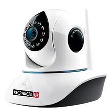 מצלמה ביתית אלחוטית, אינפרא , מסתובבת, כרטיס זכרון עד 128G ,2M PROVISION