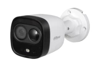 מצלמת צינור HDCVI 1080p כוללת גלאי נפח ותאורת אור לבן