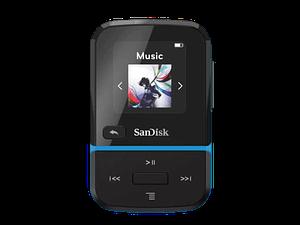 נגן SanDisk Clip Sport Go 16GB בצבע כחול